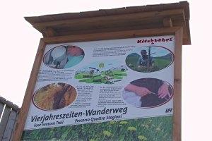 Vier-Jahreszeiten-Wanderweg in Kitzbühel
