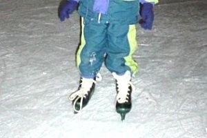 Eislaufen am Badesee Kobersdorf