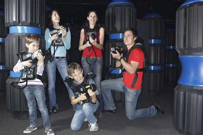 Lasertron, der Spaß für die ganze Familie