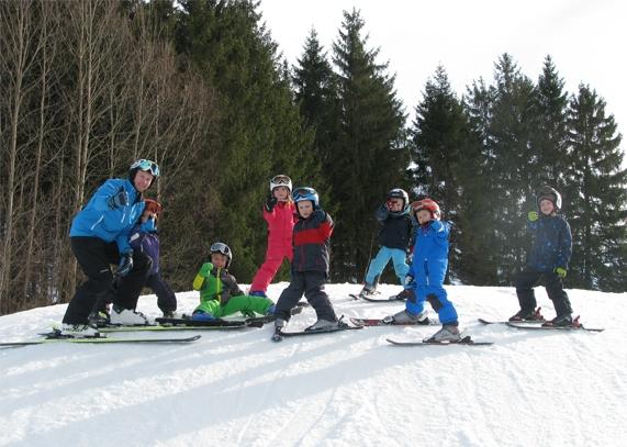 Kinder lieben die Wintersportarena Liebenau
