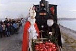 Samichlaus/Nikolaus-Fahrten mit dem Rheinbähnle ab Lustenau