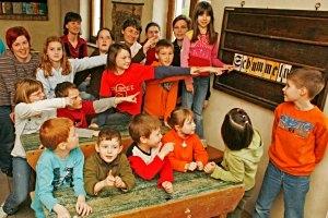 Betty Bernstein in der Michelstettner Schule