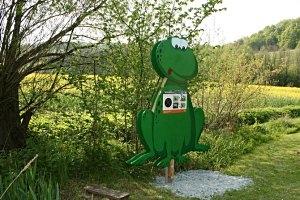 Der Lebensweg in Mühlgraben im Naturpark Raab