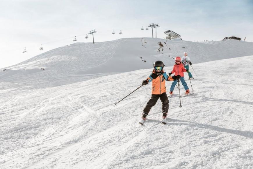 Skigebiet Hochoetz im Ötztal