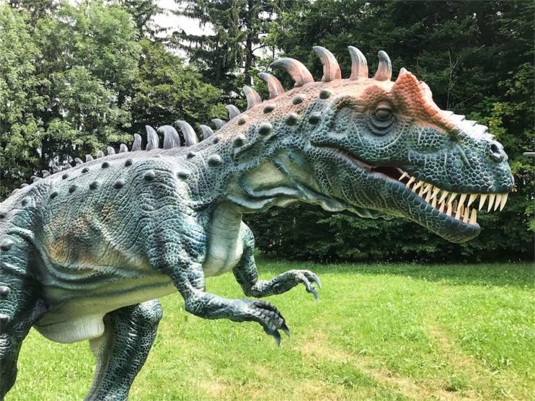 Die Magie der Dinosaurier