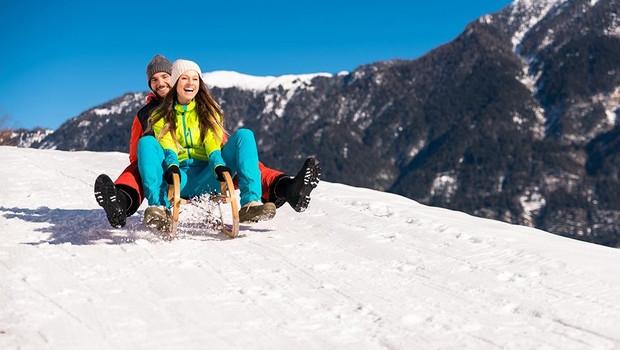 Rodeln im Skigebiet Nassfeld