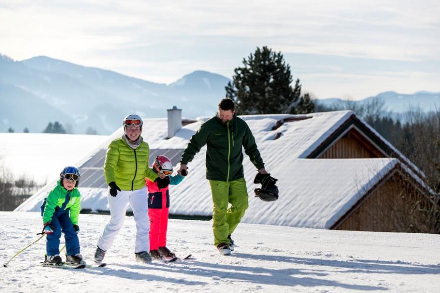 Winterspass in der Schwabenbergarena Turnau