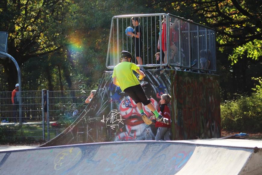 Symbolfoto Verkehrskindergarten Skaterpark Tulln