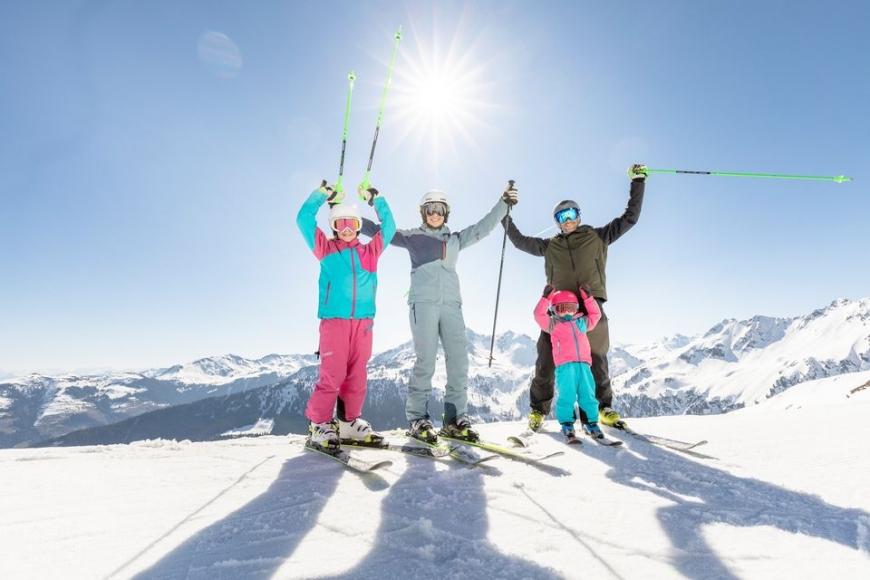 Skigebiet Schatzbergbahn: Auffach, Oberau, Niederau