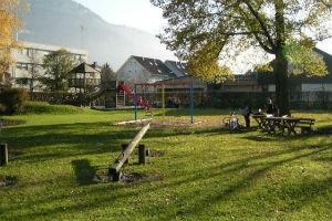 Spielplatz in der Grillparzerstraße in Hohenems