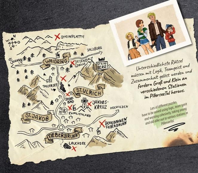 Interaktives Familien-Abenteuer im PillerseeTal