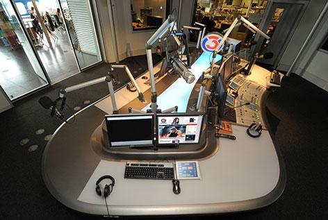 Backstageführung durch das Hitradio Ö3