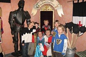 Kindergeburtstag auf Schloss Tratzberg - wie im Märchen