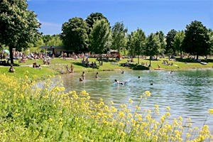 Badesee Oedt in Traun
