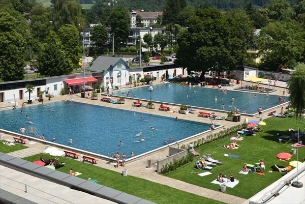 Freibad im Volksgarten Salzburg