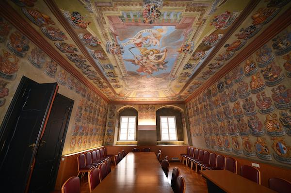 Wappensaal im Landhaus