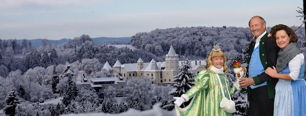 Weihnachten Schloss Kornberg