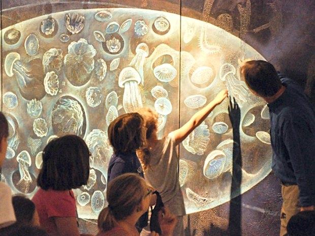 Kinder entdecken Kunstwerke im Kunstmuseum Waldviertel