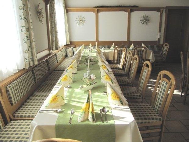 Restaurant Zechner - gedeckter Tisch