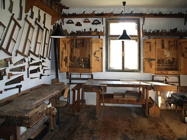 Freilichtmuseum Ensemble Gerersdorf - Tischlerei