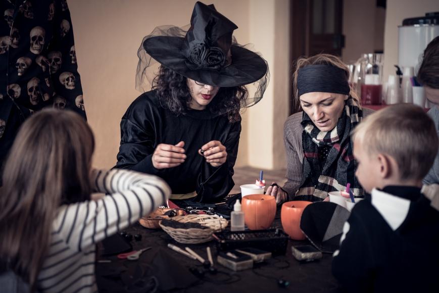Halloween Burg Forchtenstein