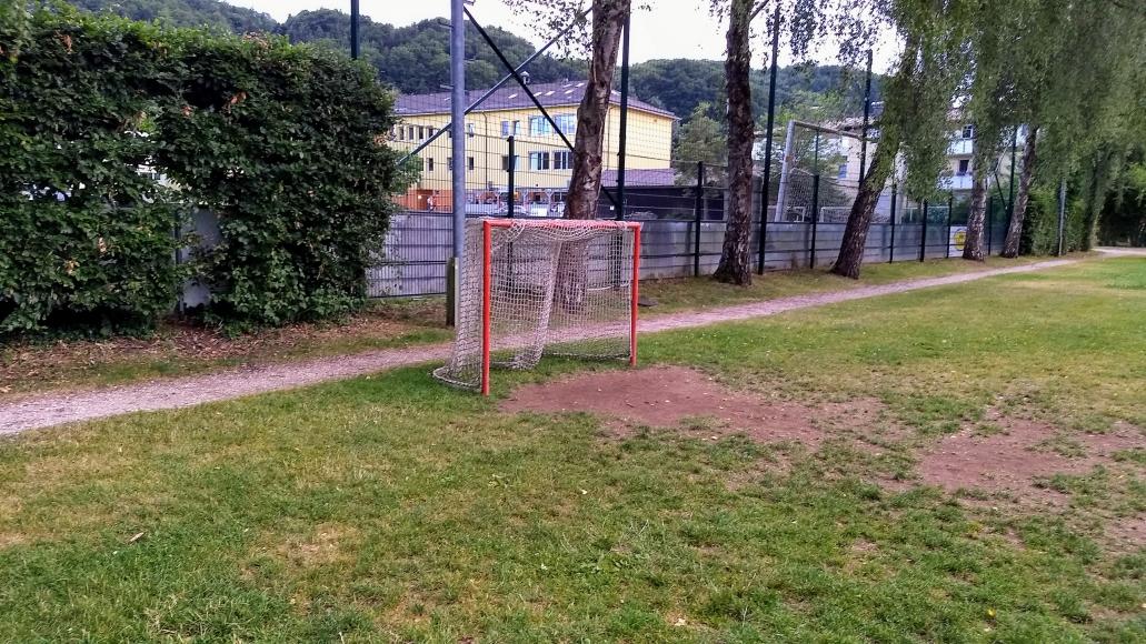 Spielplatz Mattsee Fussball