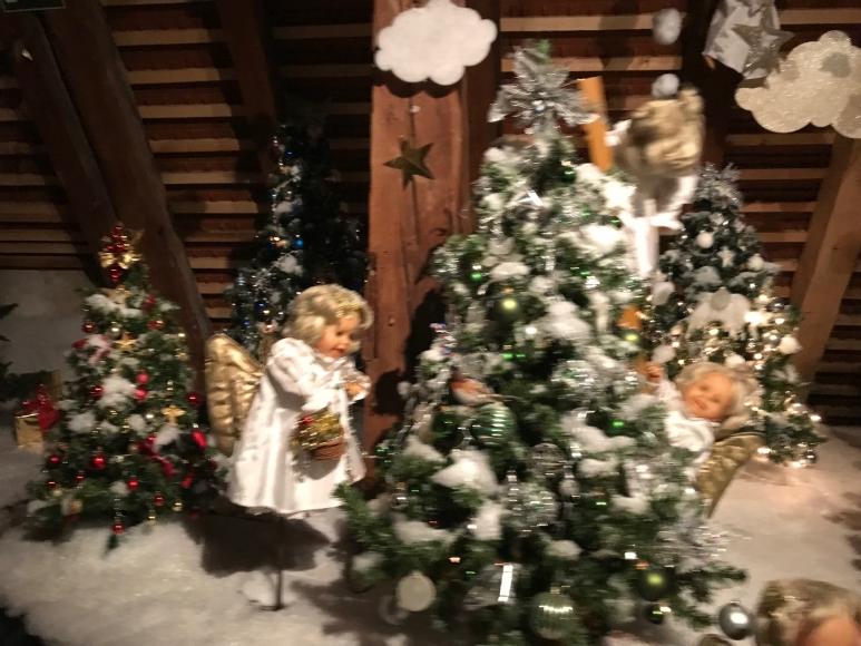 Erlebnisbahm im Weihnachtsmuseum in Steyr
