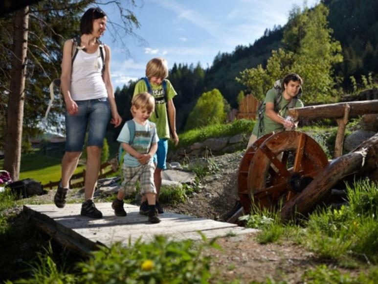 Talrundweg Kals am Großglockner - Wasserrad