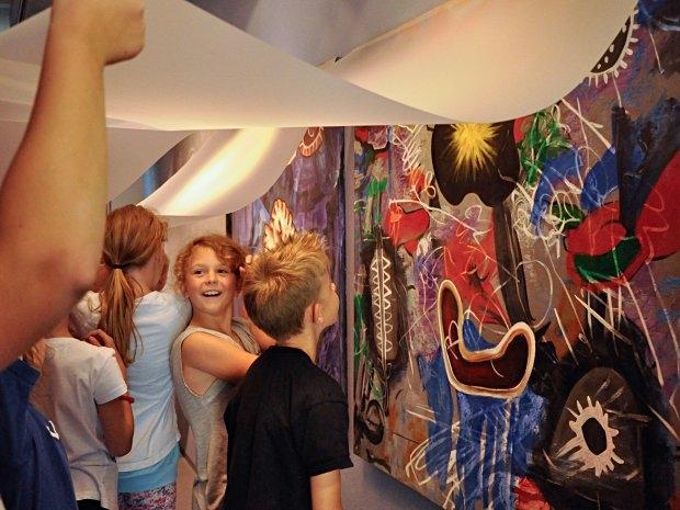 Kinderführung im Kunstmuseum Waldviertel