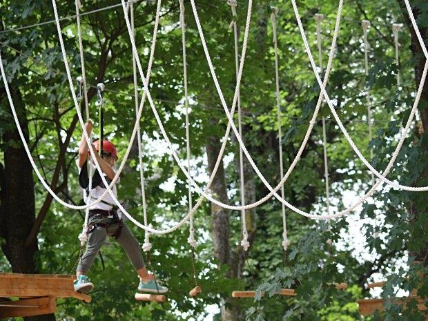 Kletterpark Tattendorf - Kinderklettern