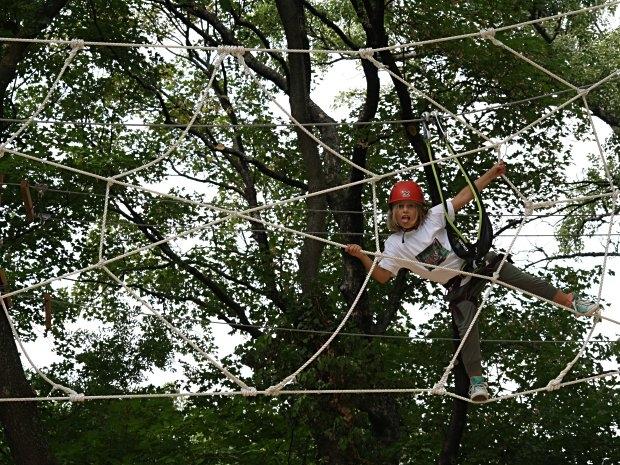 Kletterpark Tattendorf - Spinnennetz