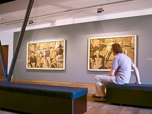Schloss Bruck in Lienz - Ausstellung Egger-Lienz
