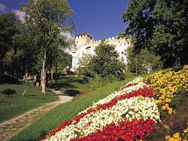 Schloss Bruck in Lienz - Schlosspark