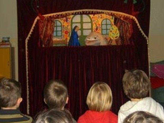 Puppenbühne Träumeland Aufführung