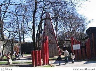 Zauberflöten Spielplatz Salzburg