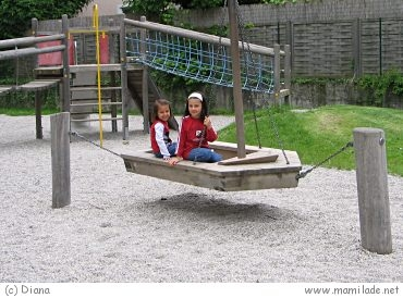 Spielplatz im Stölzlpark