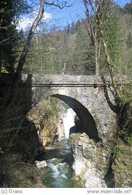 Tauglbachweg in Bad Vigaun