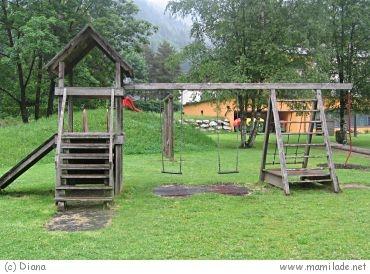 Spielplatz in Eben