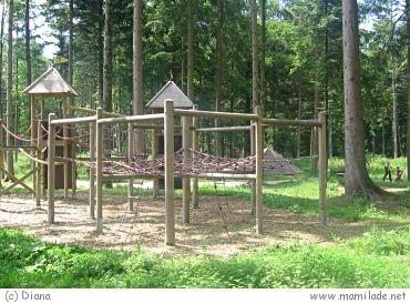Abenteuerspielplatz in der Hofau in Mattighofen