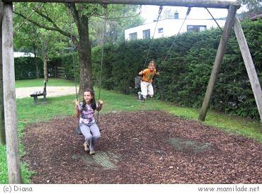 Kinderspielplatz in Zell am See / Schüttdorf