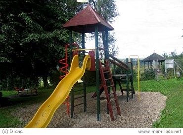 Kinderspielplatz in Elixhausen