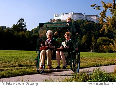 Rikschatours Salzburg