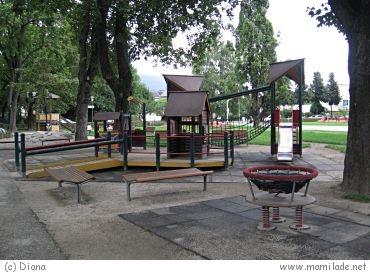 Kinderspielplatz in Villach