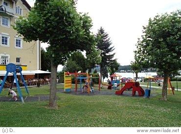 Spielplatz in Velden