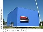 Klagenfurt blue cube