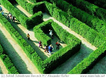 Labyrintikon Schloss Schönbrunn