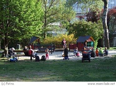 Donaupark Kleinkindspielplatz
