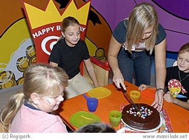 Kindergeburtstag im Bogipark