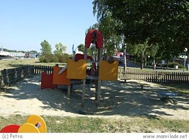Spielplatz Donaupromenade