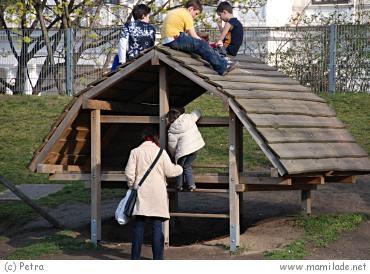 Kinderspielplatz Wiener Stadtpark